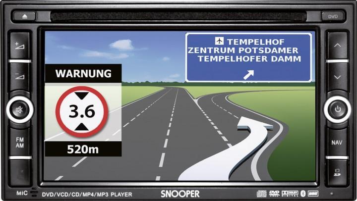 Navigationssystem Ventura AVN S 9000 PRO inkl. Shutter-Farbkamera