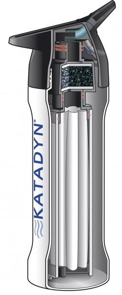 Katadyn 'MyBottle' mit Filter rot, 0,8 L
