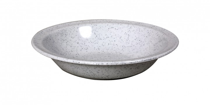 Waca Melamin, granit Teller tief Ø 20,5 cm