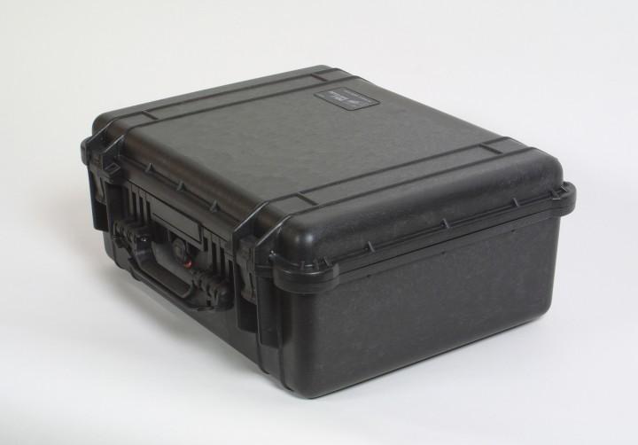 Pelibox 1550 schwarz mit Schaumeinsatz