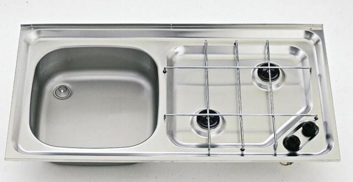 Kocher-Spülenkombination SMEV 921 Becken rechts