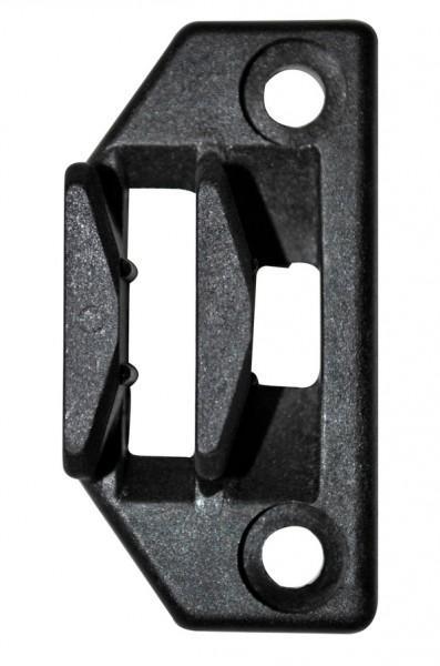 Polyplastic Verschlussplatte schwarz