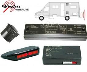 Rückfahrwarner für Reisemobile Optisches System