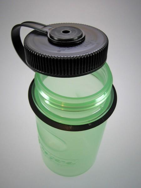 Nalgene 'Everyday Glow MiniGrip' 0,35 L, grün