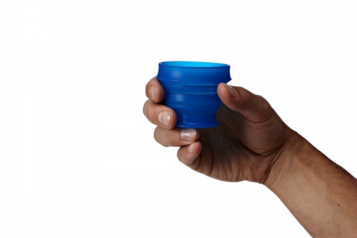 humangear 'GoCup' 118 ml, blau