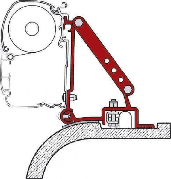 Fiamma Adapter F45i Fiat Ducato ab 2002 bis 3/2006