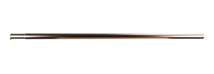 Zwischenstück mit Einsteckteil Stahl 25 mm 80 cm 2-er Set