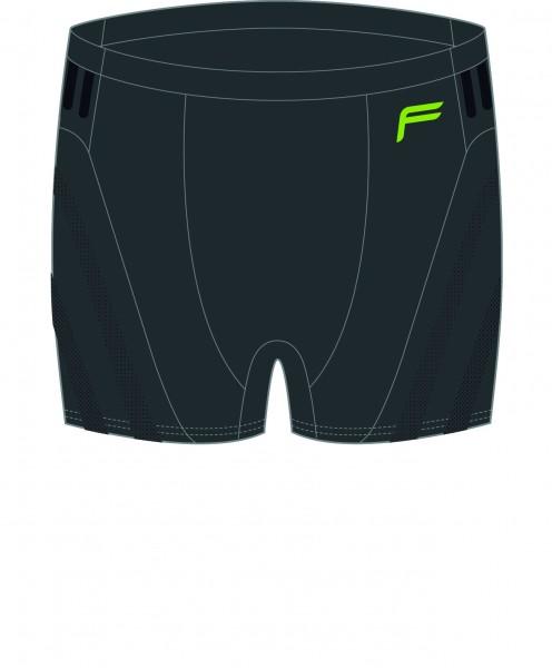 F Functional Underwear 'Megalight 140' Boxer, Men, schwarz, L