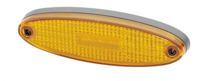 Hella LED Seitenmarkierungsleuchte gelb