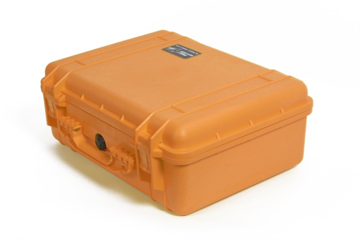 Pelibox 1520 orange mit Schaumeinsatz
