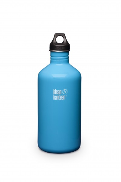 Klean Kanteen Flasche 'Classic' Loop Cap hellblau, 1,9 L
