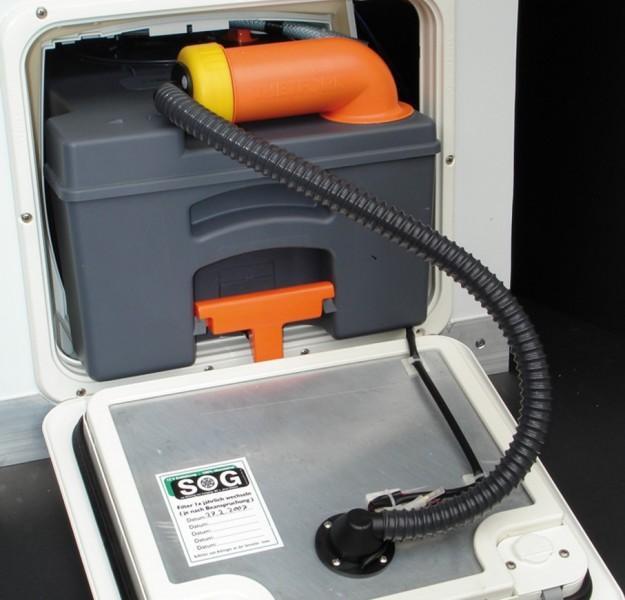 SOG 1 Typ F für C 250, C 260 Filtergehäuse weiß