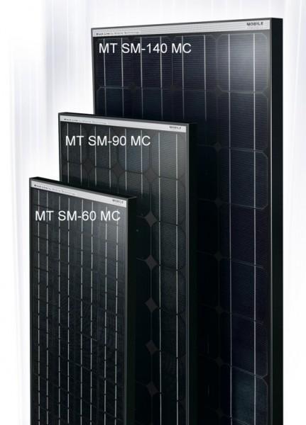 MT-Monokristallin Solarmodul SM 140 MC