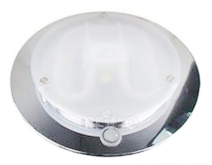 Modul-Deckenleuchte 16W/12V Nickel mit Schalter