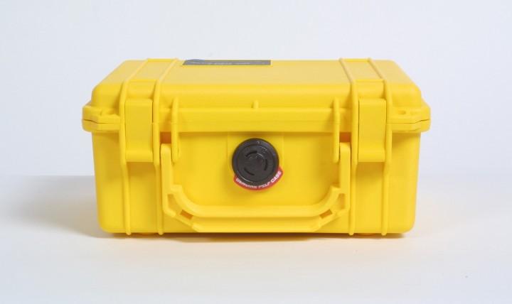 Pelibox 1150 gelb mit Schaumeinsatz