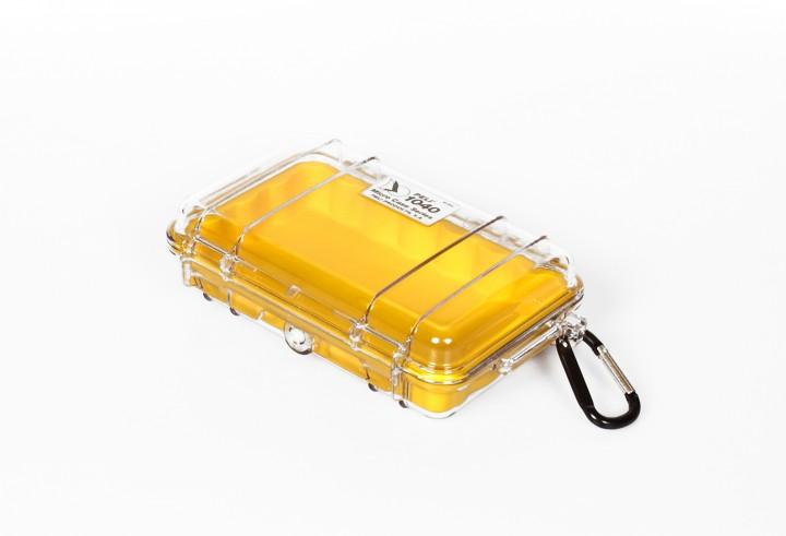Peli 'MicroCase 1040' klar / gelb