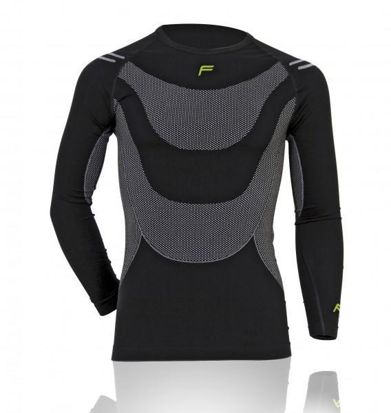 F Functional Underwear 'Megalight 140' Longshirt, Men, schwarz, XL