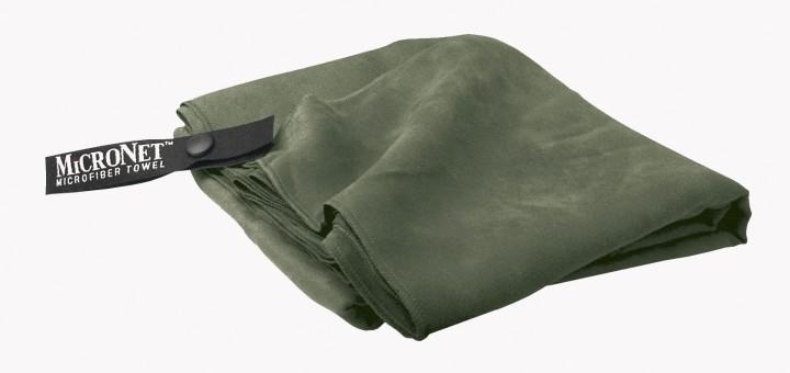 McNett Outgo Handtuch 'MicroNet' XL, moosgrün