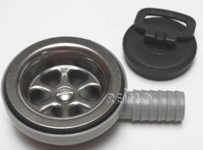 Ablaufgarnitur für Waschbecken Can 19 mm