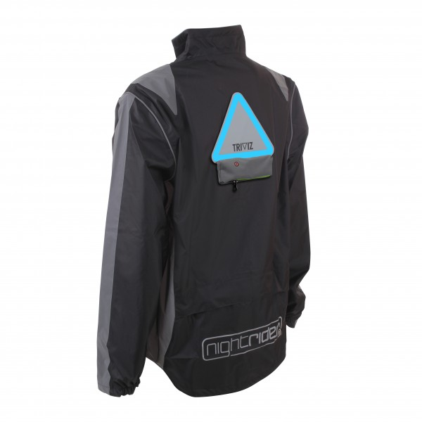 Proviz 'Nightrider' Jacket, Herren schwarz, L