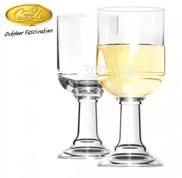 Polycarbonat Gläser St.Tropez Weißwein Set 250 ml