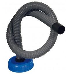 Verschluss mit Abwasserschlauch 1 m DIN 96
