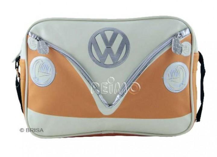 VW Collection Schultertasche VW Bulli Querformat orange
