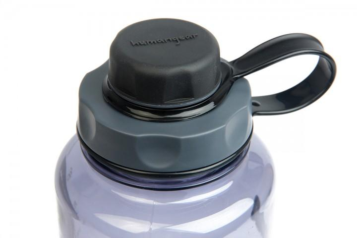 humangear Flaschendeckel 'capCAP' für Hals Ø 5,3 cm, schwarz