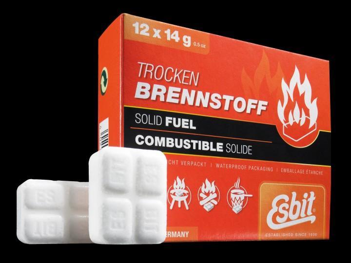 Esbit Trockenbrennstofftabletten 14 g 12er Pack