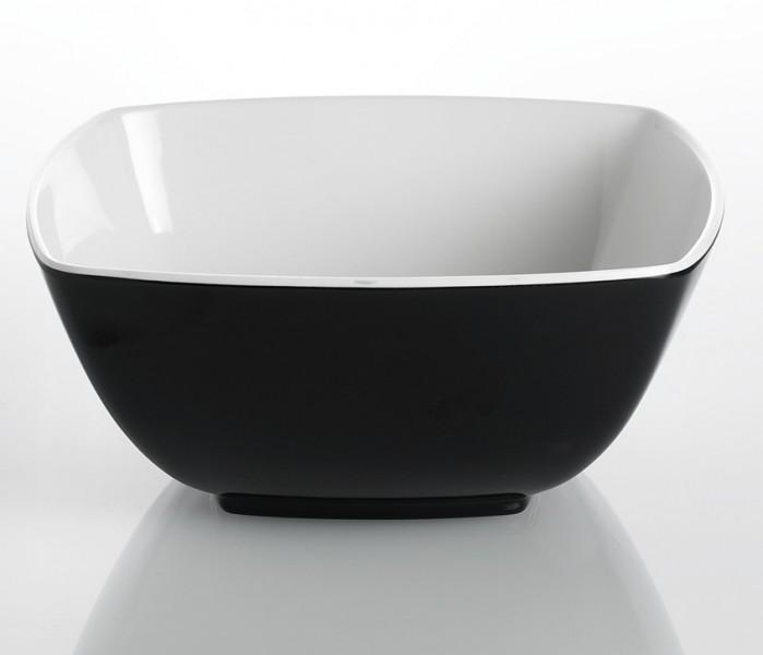 Schale Quadrato Black and White