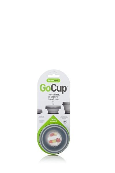 Faltbecher humangear GoCup 118 ml schwarz
