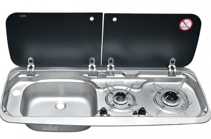 Kocher-Spülen-Kombination 9222 Becken rechts