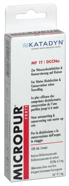 Micropur Forte MF 1 T, 100 Tabletten