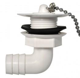 Wasserauslauf 3/4 Zoll abgewinkelt 90 Grad