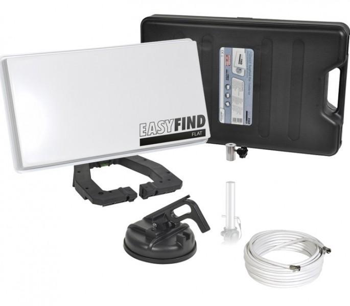 Sat-Anlage Easyfind Flat Traveller-Kit