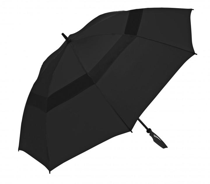ShedRain Schirm 'WindPro Vented 68' XL schwarz, 106 cm