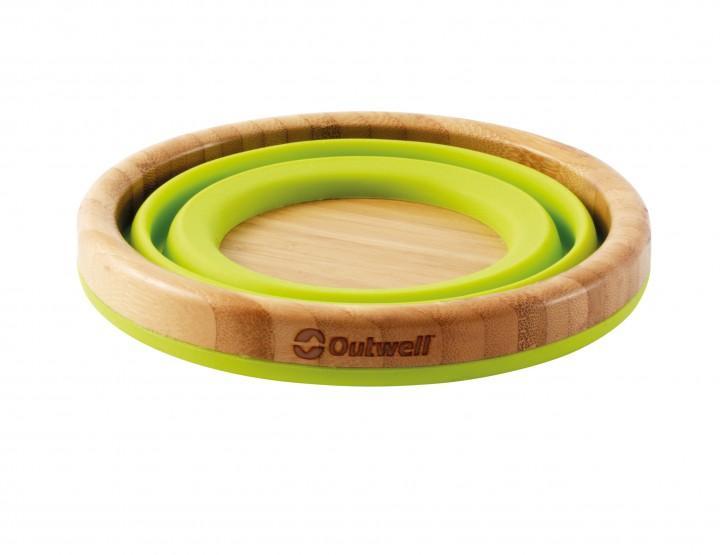 Outwell Schüssel Bambus Collaps L grün