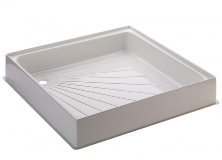 Duschwanne 60 x 60 x 10 cm weiß