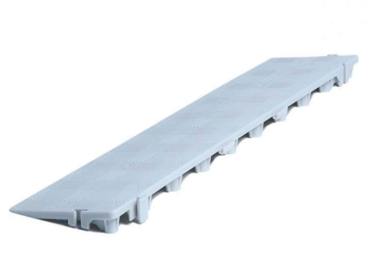 Clippy Längsrampe für Clippy Bodenrost grau