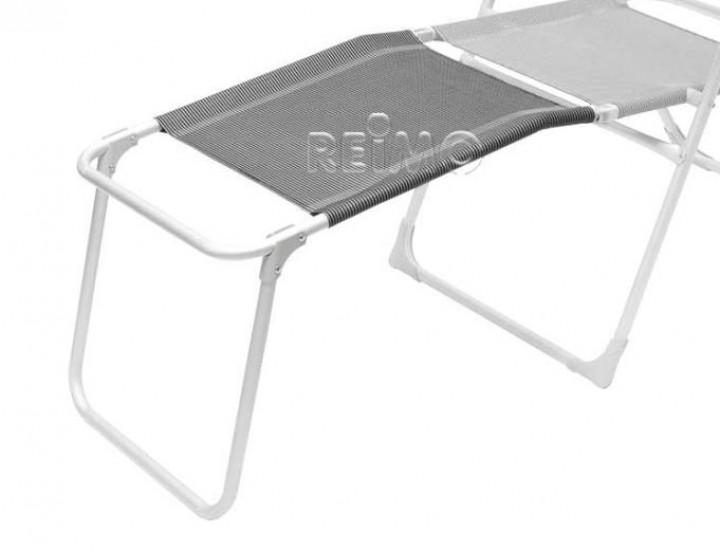 Fußstütze Malaga Compact schwarz/silber