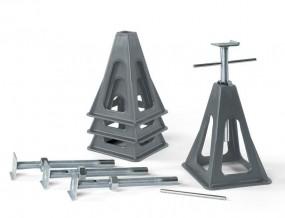 Stützbock-Set Kunststoff Verstellbar