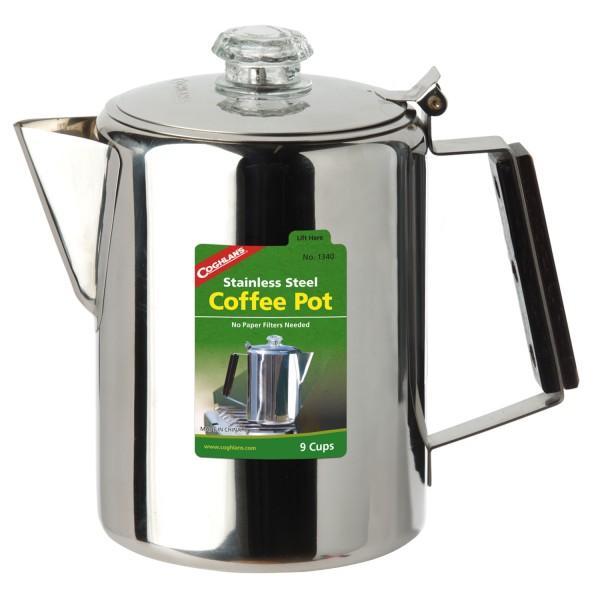 Coghlans Edelstahlkanne Coffee Pot 9 Tassen