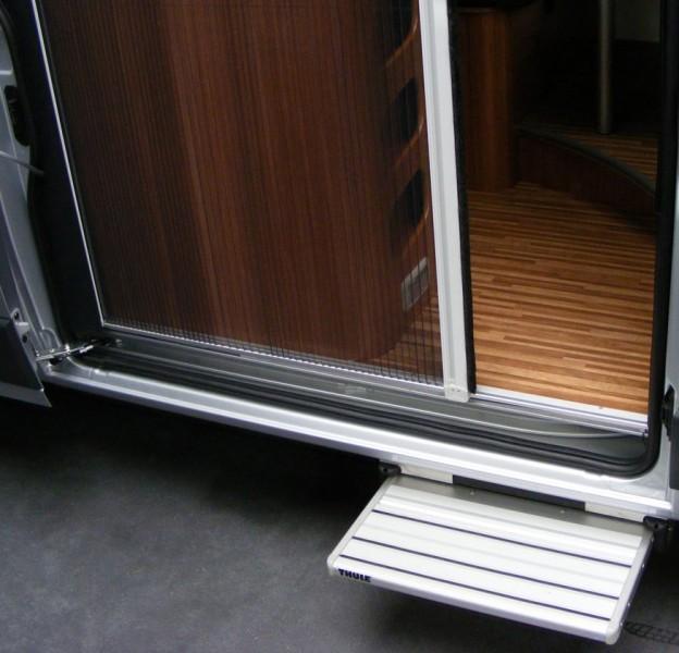 Plissee Fliegenschutztür Schiebetür H2 und H3 Fiat Ducato ab 2007