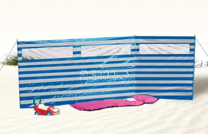 Windschutz Duffy 4,0 x 1,4 m blau weiß