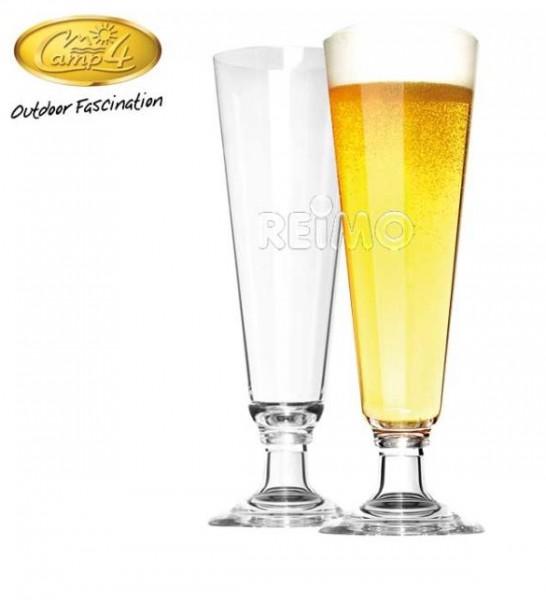 Polycarbonat Gläser St. Tropez Pils Set 440ml