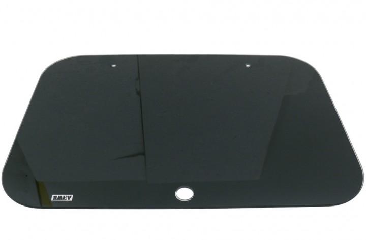 Glasabdeckung schwarz für SMEV-Spülbecken 8006