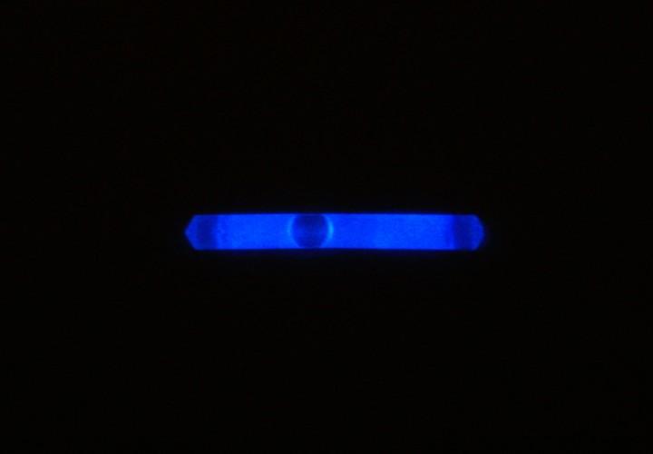Knicklicht, 3,9 cm, Box mit 40 x 2 Stück blau