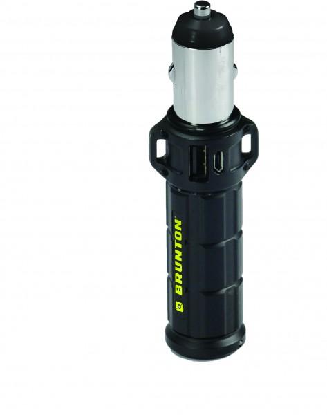 Brunton USB Ladegerät-Speicher 'Torpedo 2800' schwarz