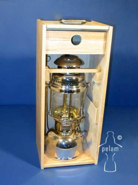 Petromax Holzbox mit Plexiglasscheibe für 500 & 350 HK