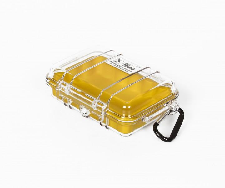 Peli 'MicroCase 1020' klar / gelb
